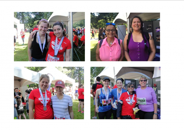 DEWC staff, sponsors, supporters, and volunteers at the 2016 Scotia Charity Challenge