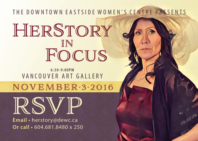 Downtown Eastside Women's Centre presents Herstory in Focus